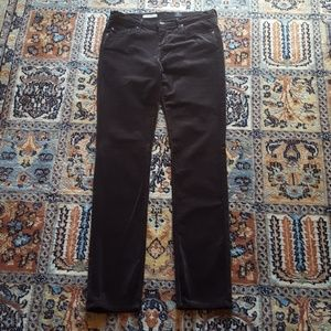 Adriano Goldschmied slim straight brown cords 28 R